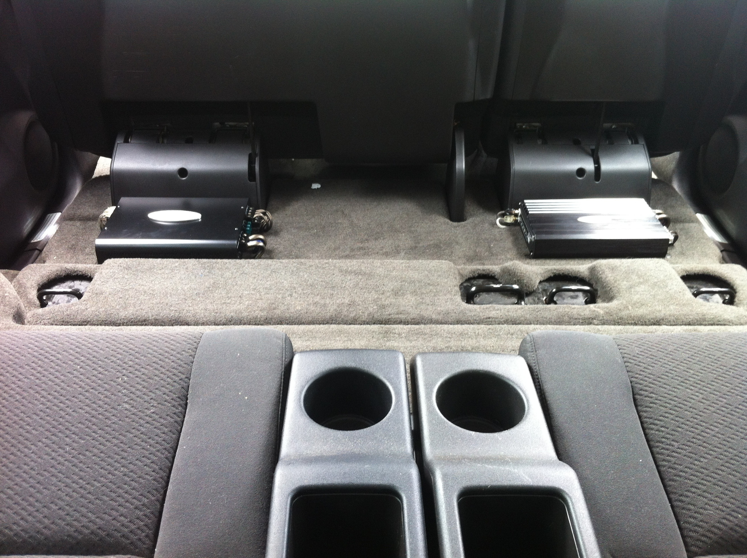 CHEVY TAHOE AMP INSTALL