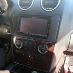 MERCEDES ML DOUBLE DIN DASH KIT
